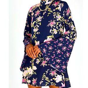 Free People Tate tunic floral dress